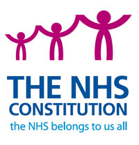 NHS Constitution logo