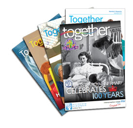 Together magazine montage image