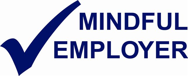 Mindful Employer Charter Logo (blue)