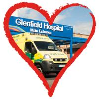 Hold on to our Hearts - Glenfield Hospital in Heart