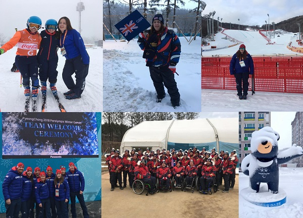 Dr Kim Gregory, Consultant in Sports and Exercise Medicine at Leicester's Hospitals joined up with the ParalympicsGB team as Travelling Chief Medical Officer at the 2018 Paralympic Winter Games in South Korea.
