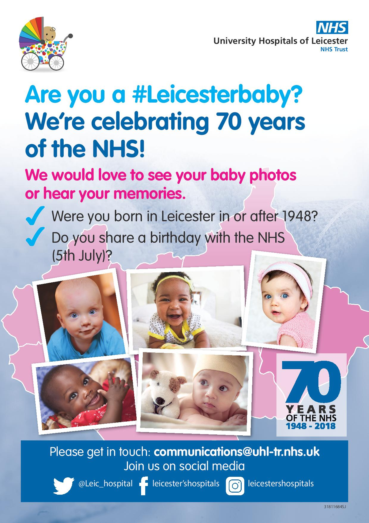 Are you a #Leicesterbaby?