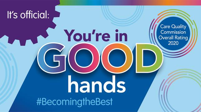 Homepage promo - CQC Good Hands