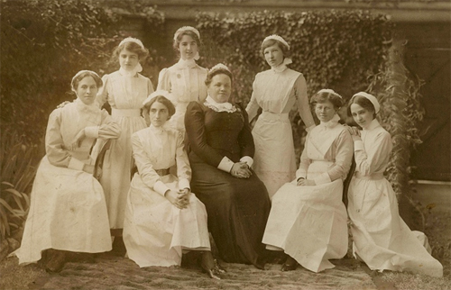 1900s Group picture of Nurses