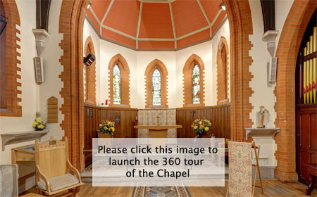 St Luke's Chapel tour
