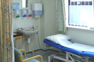 Breast care clinic room