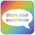 Share your experience Button