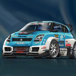 eGreeting - Rally car image