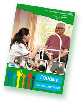 Equality Annual Report cover image