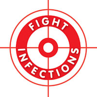 Image of the Fight infections logo