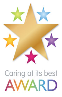 Image of Caring at it's best awards logo