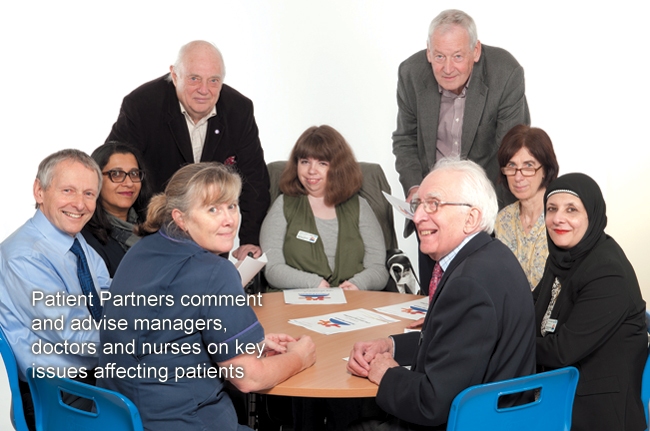 Patient Partners - Partners sitting around table