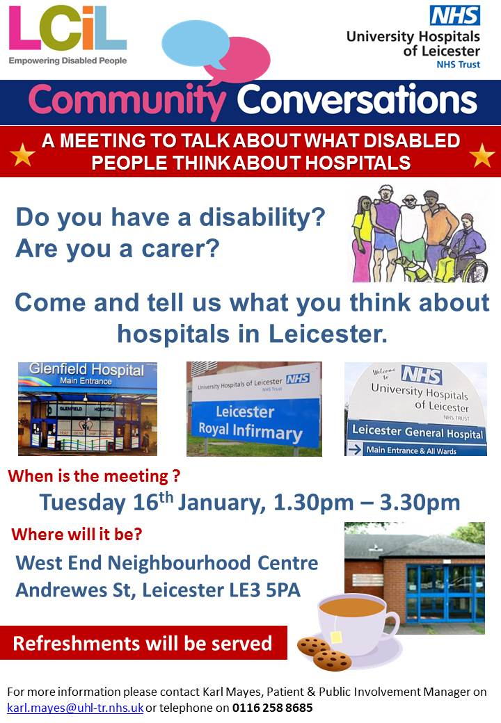 Community Conversations Event - 16 Jan (Poster 1)