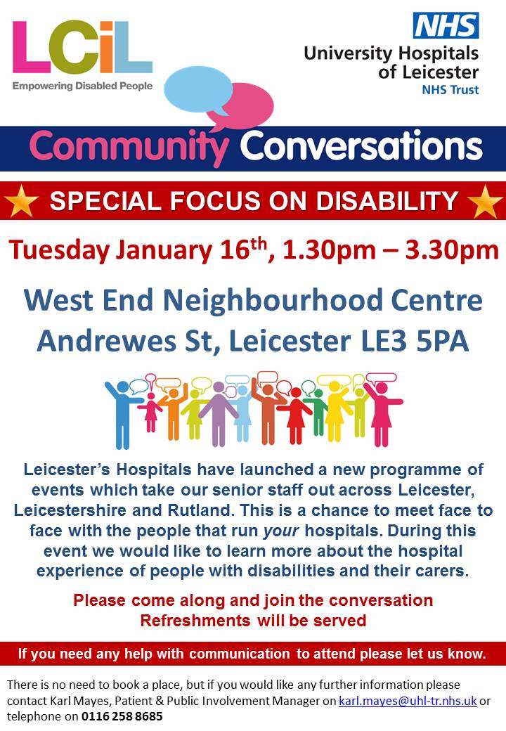 Community Conversations Event - 16 Jan (Poster 2)