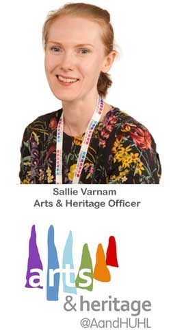 Arts & Heritage Officer Sallie Varnum