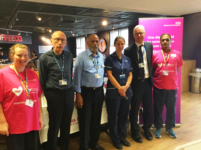 Organ Donation Week - Stall at LGH, 06/09/18